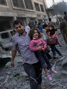 Stop War! …as a general rule, people take offense at being bombed.  (Gaza)