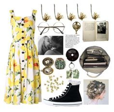 """the paper kites-paint"" by perishxthou ❤ liked on Polyvore featuring River Island, Converse, Esperos and H&M"