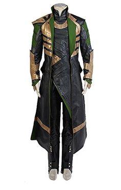 Thor The Dark World Loki Whole Set Cosplay Kostüm Herren M