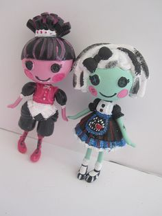 Lalaloopsy as Monster High finally an idea for those ridiculous top heavy dolls