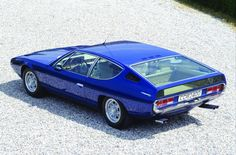 1968 Lamborghini Espada 400 GT S1. The best angle of an otherwise awkwardly styled car.