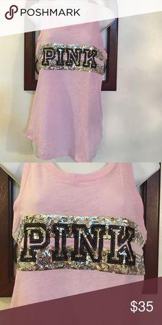 PINK TOP XS VICTORIA SECRET PINK Victoria's Secret Tops Tank Tops