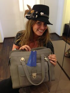 Love the Bag and Love the Hat @ Strenesse