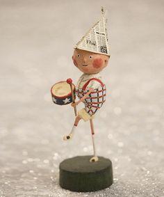 little paper mache drummer boy Look at this #zulilyfind! Little Patriotic Boy Figurine #zulilyfinds