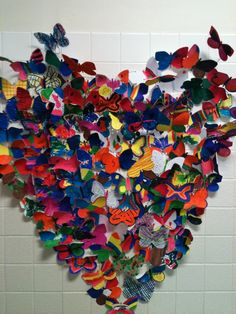 Butterfly heart. Fun collaboration project.
