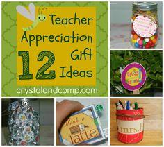 12 teacher appreciation gift ideas