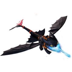Figurine Krokmou cracheur de flammes #dragon #LeGuide.com