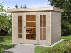 5Eck Gartenhaus Modell SunnyC Gartenpavillon