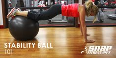 The stability ball forces you to work harder and targets those tiny stabilizer muscles you never knew you had. Try this workout for a complete, full-body sweat session.