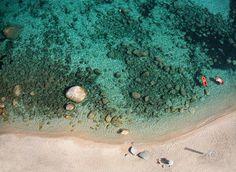 La plage de Portigliolo à Ajaccio en Corse du Sud en France ! Et oui nos belles plages Françaises n'ont rien à envier à celle de l'autre bout du monde croyez-nous! #beach #Corsica