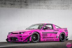 Rocket Bunny Pink 240SX