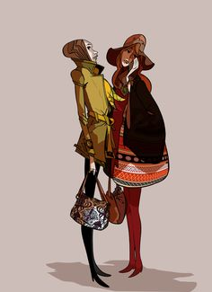 Around the corner by jean philippe kalonji, via Behance