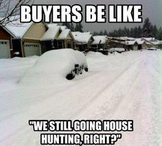 Gotta love selling in the winter!