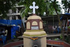 Cross at Bhabola. Vasai West.  Courtesy: Facebook page/ Chulne.com