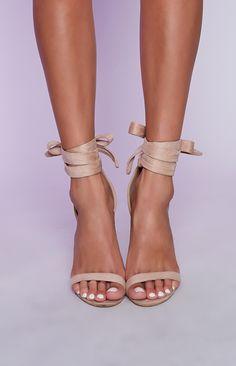 dc81dae7160 A shoe as elegant as it s name - the Billini Gwyneth Heels in Blush Suede.