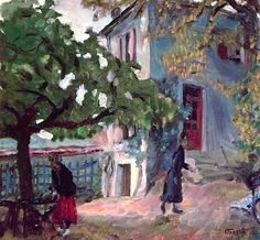 The Terrace, Pierre Bonnard
