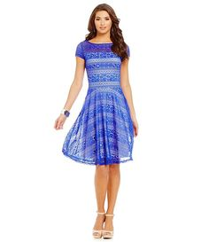 Sangria Illusion Lace Midi Dress