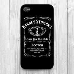 For Iphone 5 Barney Stinson Have You Met Ted Jack Daniels How by MongoosePrint, £8.99
