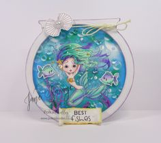 Polkadoodles Meribelle Mermaid!!!
