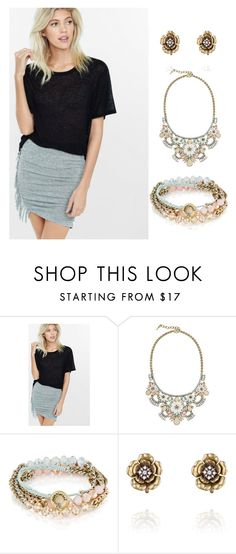 """""""Pretty Pastels"""" by eryn-shimizu on Polyvore featuring Express and Chloe + Isabel"""