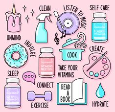 Self Care from SugarBearHair 💙 Sugar Bear Hair, Sugar Bears, Sleep Vitamins, Hair Vitamins, Preppy Stickers, Paint Photography, Journal Stickers, Study Motivation, Bullet Journal Inspiration