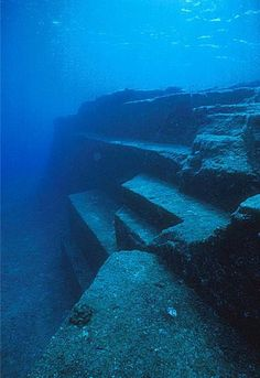 Yonaguni Pyramid - Discovered in 1985 off the coast of Japan.  Estimated to be 10,000 years old.