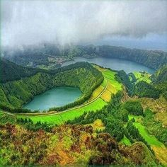 The Lagoa de Santiago is a Portuguese lagoon, located on the island of São Miguel, archipelago of the Azores, in the municipality of Ponta Delgada and is related to the volcanic formation of the Seven Cities Massif.