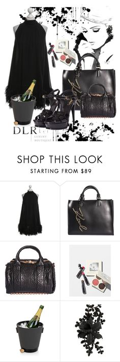 """SALES DLRBOUTIQUE"" by free-my-spirit ❤ liked on Polyvore featuring D&G, Karl Lagerfeld, Alexander Wang, Chantecaille, Dsquared2 and Yves Saint Laurent"