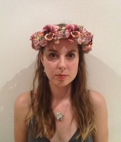Flower Crown / Boho Bridal / Made to Order by SaintSenara on Etsy, $60.00
