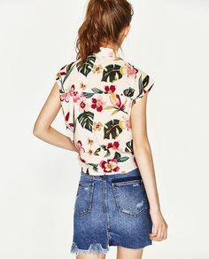 Image 7 of PRINTED SHIRT from Zara