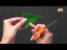 Learn to Kirigami a Christmas Tree - YouTube