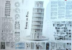 proyectos seleccionados Premios Mestre 2016 Pisa, Tower, Building, Travel, Door Prizes, Blue Prints, Rook, Viajes, Computer Case