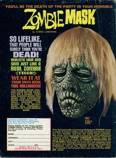 zombie mask ad