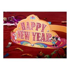 Minnie & Daisy Happy New Year Crown | Printables | Spoonful