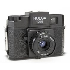 You gotta have one of these!  Mine is the model with a built-in color flash, but this one is nice, too.  A great bargain for exploring Lomography on a budget!