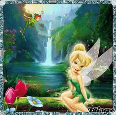 Tinkerbell Gifts, Tinkerbell Disney, Tinkerbell Fairies, Disney Fairies, Disney Diy, Walt Disney, Disney Princess, Just Magic, Fairy Drawings