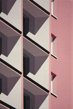Roos van Dijk loves and paints modern architecture Art Armada - . - Roos van Dijk loves and paints modern architecture Art Armada – - Plakat Design, Illustrator, Architecture Drawings, Contemporary Architecture, Architecture Geometric, Architecture Artists, Colour Architecture, Building Architecture, Textures Patterns