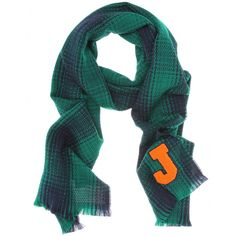"Jil Sander scarf with ""J"" as in ""JULIA"""