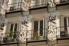 Calle Campoamor.  Barrio de Chueca. Madrid. 2015.