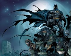 Batman / The Darkness This crossover should've got more press! Marc Silvestri and David Finch