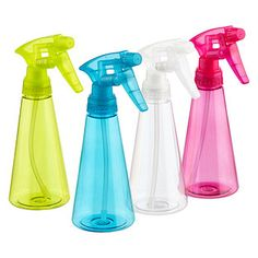 Our 8 oz. Spray Bottle features a screw-top lid in an assortment of colors so you can easily identify what you have! Streak Free Windows, How To Wash Vegetables, Stainless Steel Cleaner, Buy Used Cars, Travel Bottles, Container Store, Rubbing Alcohol, Cuisines Design, Natural Cleaning Products