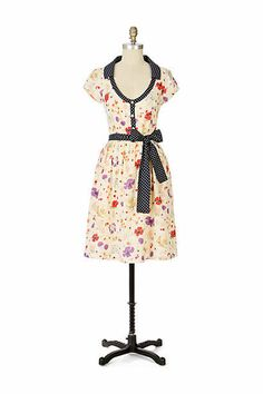 VIOLA#Anthropologie Dinette Dress 2007 - $29.99 at JOHNNY BOMBSHELL #retro