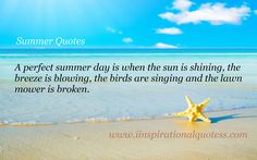 Image result for summer quotes