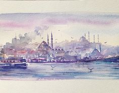 "Check out new work on my @Behance portfolio: ""İstanbul Panaroma - Suluboya Çalışmalarım"" http://be.net/gallery/41602077/stanbul-Panaroma-Suluboya-Calsmalarm"