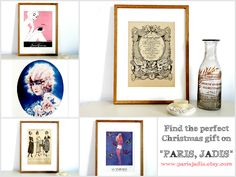 In exactly 38 days Christmas Eve will be here, but have you already find the perfect gifts for the members of your family and friends ? A french vintage illustration is always a good choice for a present, especially for a surprise gift. #christmas #vintage #illustration #christmasgift
