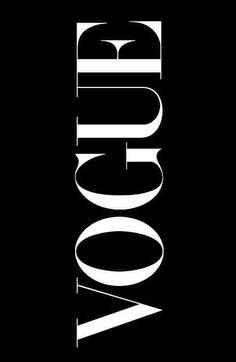 Vogue in black