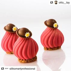 #Repost @silikomartprofessional Single portions made by @otto__tay with @silikomartprofessional Russian Tale mould! professional.silikomart.com #bethefirstbeoriginal #madeinitaly #repost #pastry #chocolate #bakelikeaproyoutube #instagood #instagram #chocolate
