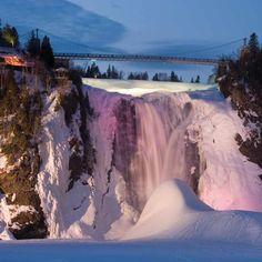 Parc de la Chute Montmorency   Montmercy Falls Park - Quebec City - Credit:  Yves Tessier