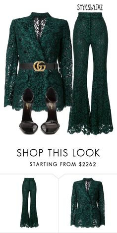 """Untitled #773"" by harrisjazmin ❤ liked on Polyvore featuring Dolce&Gabbana, Gucci and Yves Saint Laurent"