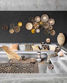8 Scandi-Boho Decor Ideas for a Summer Home « Diy Best Garden Deko Decor, Interior, African Home Decor, Living Room Decor, African Interior Design, African Interior, Home Decor, House Interior, Interior Design